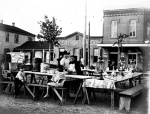 Chili Stand, San Antonio, 1902.from institute oof texan cultures, UTSA