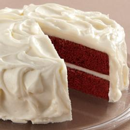 Cake With Cream Cheese Frosting : layer cake