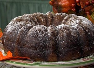 dr pepper bundt cake