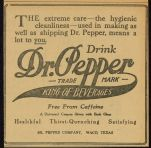 early 1900s ad