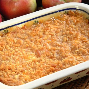 apple cheddar casserole
